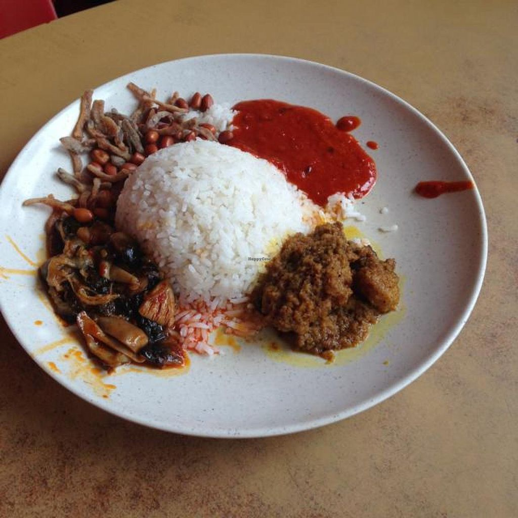 """Photo of San San  by <a href=""""/members/profile/AndyT"""">AndyT</a> <br/>Nasi Lemak (vegan) <br/> April 19, 2014  - <a href='/contact/abuse/image/9815/68024'>Report</a>"""