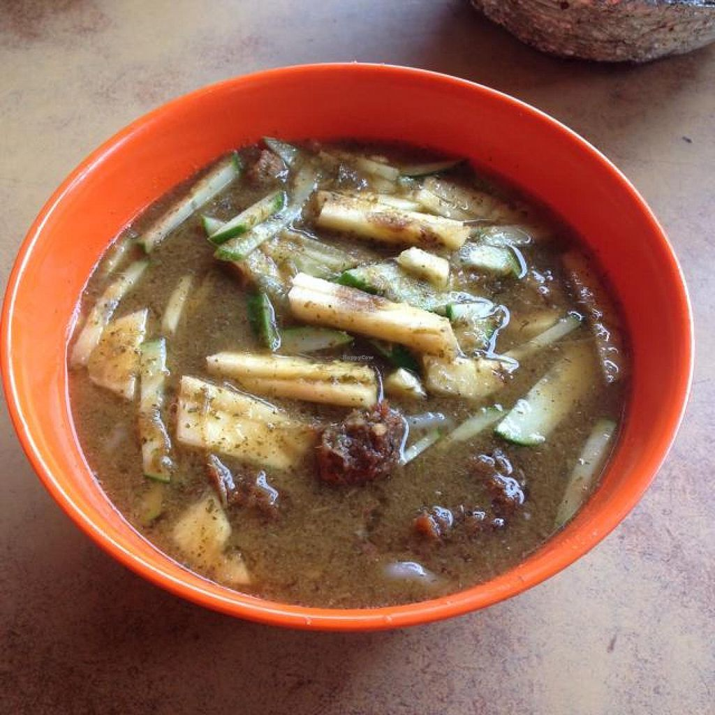 """Photo of San San  by <a href=""""/members/profile/AndyT"""">AndyT</a> <br/>Assam laksa (vegan) <br/> April 19, 2014  - <a href='/contact/abuse/image/9815/68026'>Report</a>"""