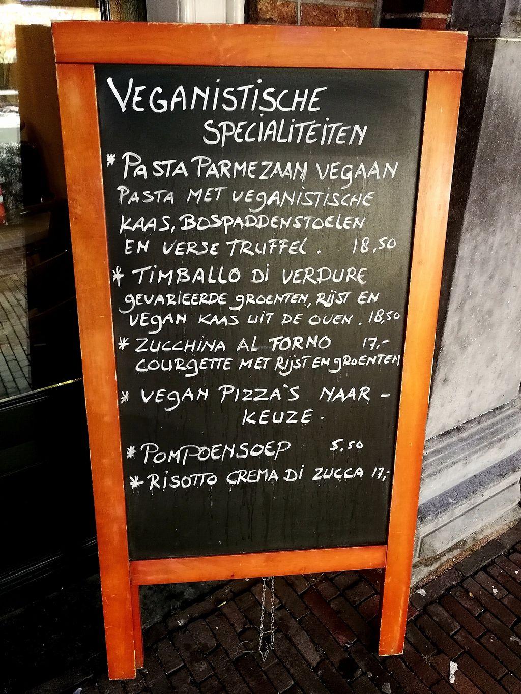 "Photo of Gaspare Ristorante Pizzeria  by <a href=""/members/profile/Gudrun"">Gudrun</a> <br/>Part of the vegan menu.  <br/> November 5, 2017  - <a href='/contact/abuse/image/98173/322000'>Report</a>"