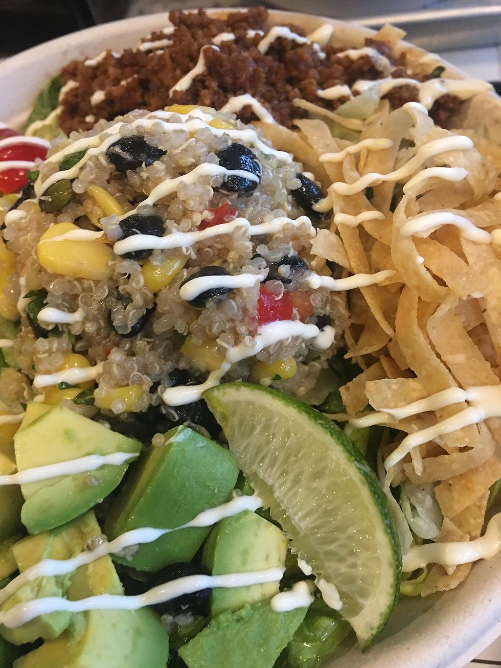 "Photo of By Chloe  by <a href=""/members/profile/Kate6300"">Kate6300</a> <br/>Quinoa taco bowl <br/> February 7, 2018  - <a href='/contact/abuse/image/98200/356158'>Report</a>"