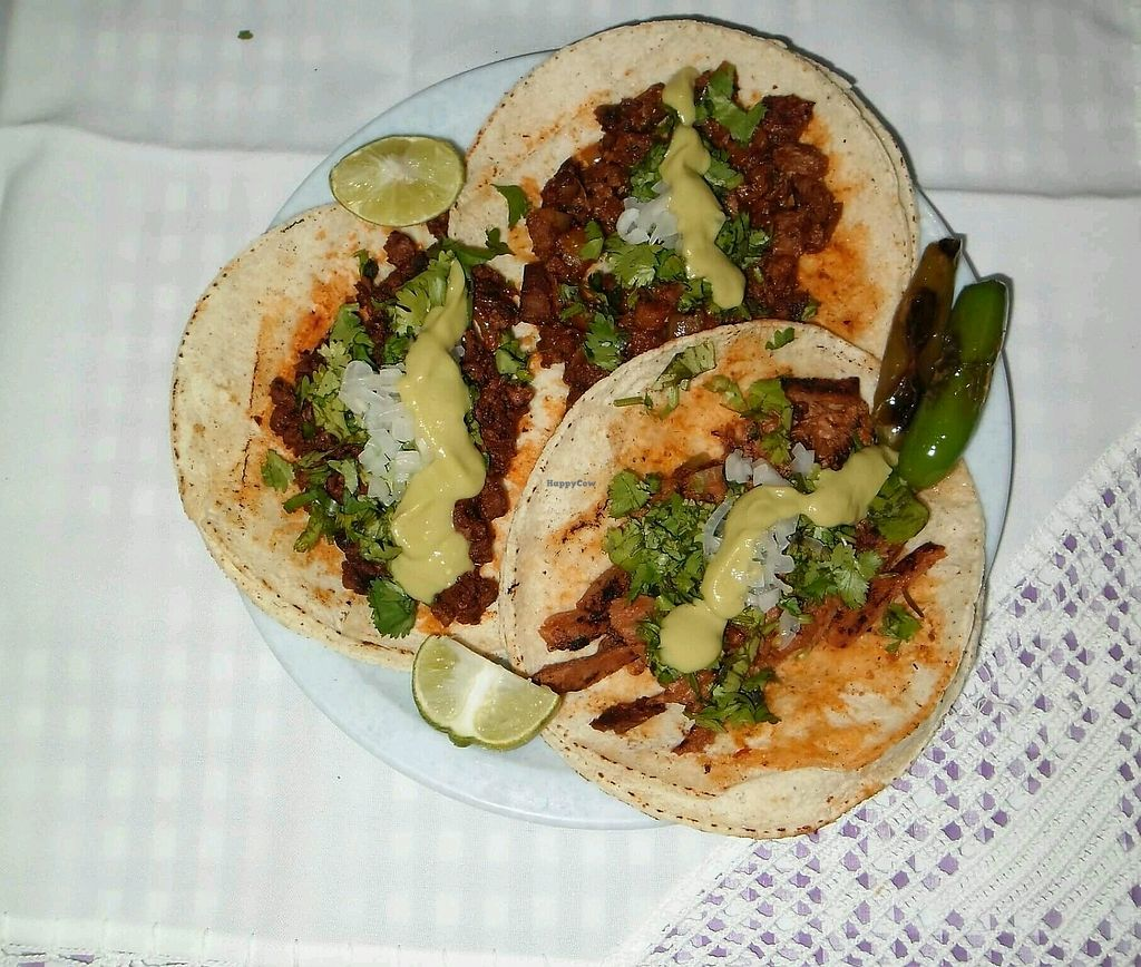 """Photo of La Cochera Veggie  by <a href=""""/members/profile/EdnaRm"""">EdnaRm</a> <br/>Tacos  <br/> August 28, 2017  - <a href='/contact/abuse/image/98244/298228'>Report</a>"""