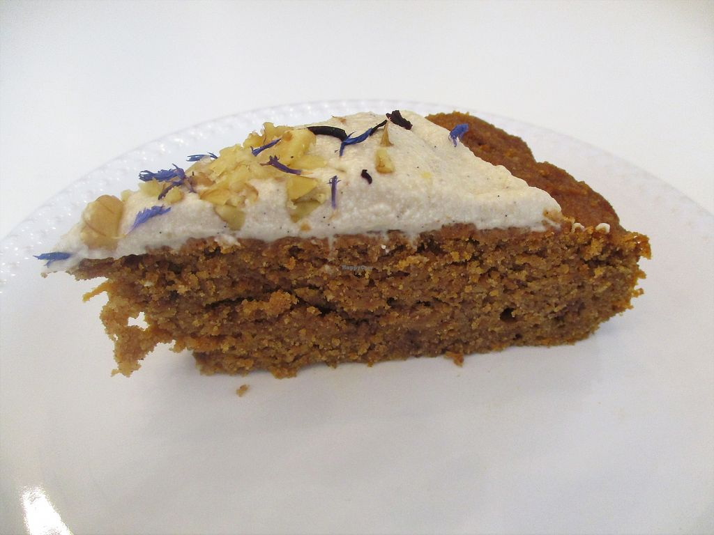 """Photo of Comptoir Veggie  by <a href=""""/members/profile/ConnieB"""">ConnieB</a> <br/>Carrot cake <br/> September 27, 2017  - <a href='/contact/abuse/image/98252/309168'>Report</a>"""