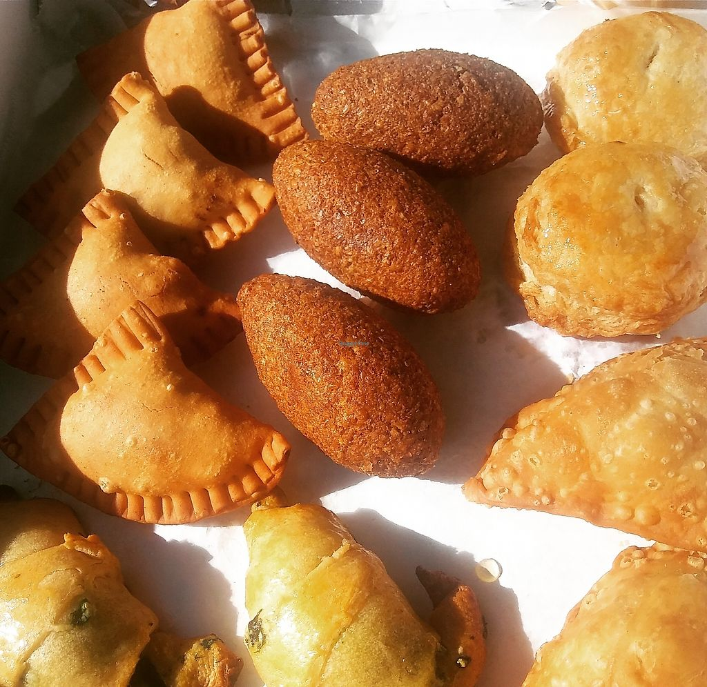 """Photo of The Happy Vegan Bakers  by <a href=""""/members/profile/Happyveganbakers"""">Happyveganbakers</a> <br/>Kibbehs Empanadas of """"meat"""" <br/> August 10, 2017  - <a href='/contact/abuse/image/98276/291169'>Report</a>"""