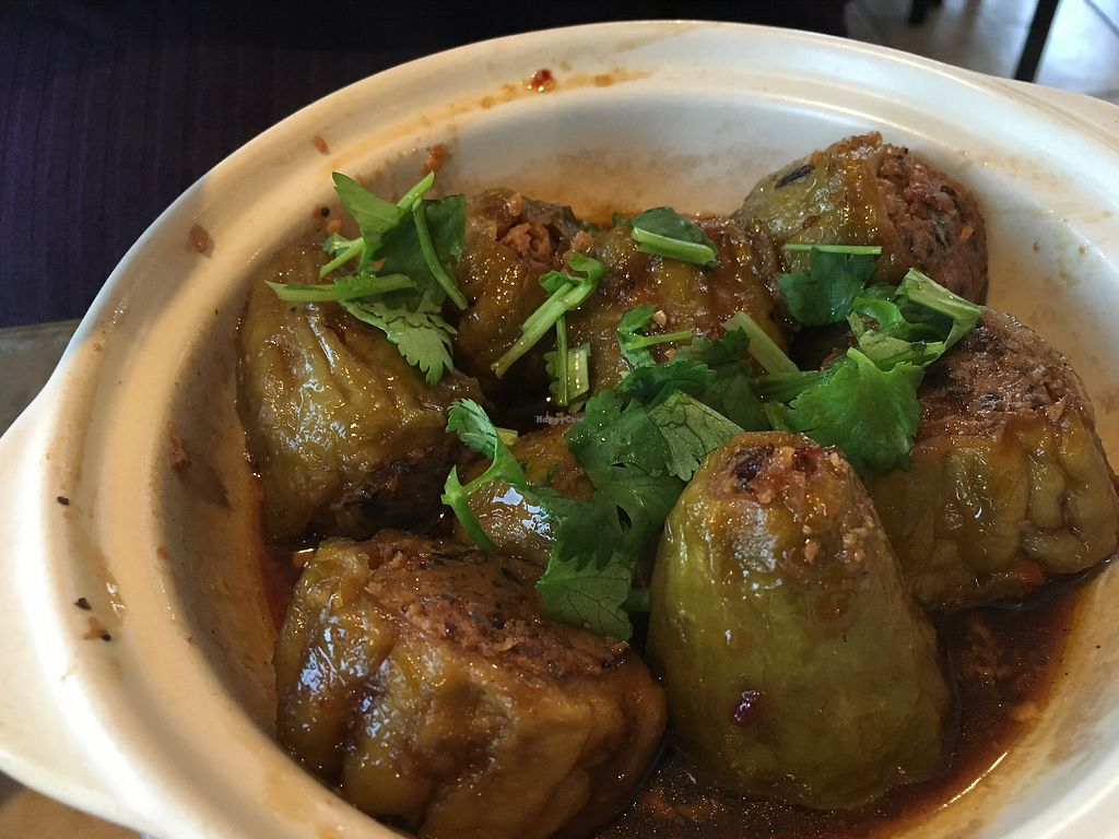 """Photo of Seattle Lotus Vegetarian  by <a href=""""/members/profile/Veg4Jay"""">Veg4Jay</a> <br/>Braised Bittermelon  <br/> October 30, 2017  - <a href='/contact/abuse/image/98282/320024'>Report</a>"""