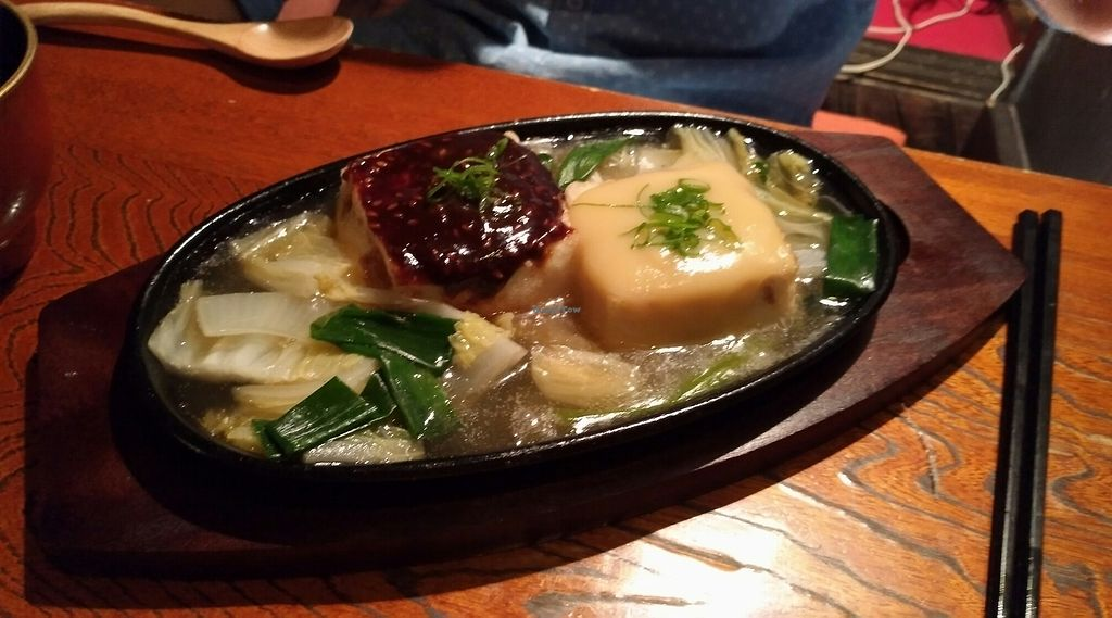 "Photo of Shishin Samurai Cafe & Bar  by <a href=""/members/profile/JeannetteVigneron"">JeannetteVigneron</a> <br/>tofu steak <br/> August 14, 2017  - <a href='/contact/abuse/image/98302/292638'>Report</a>"