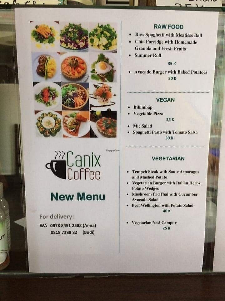 """Photo of Canix Coffee  by <a href=""""/members/profile/Rogera"""">Rogera</a> <br/>Menu <br/> August 10, 2017  - <a href='/contact/abuse/image/98327/291248'>Report</a>"""