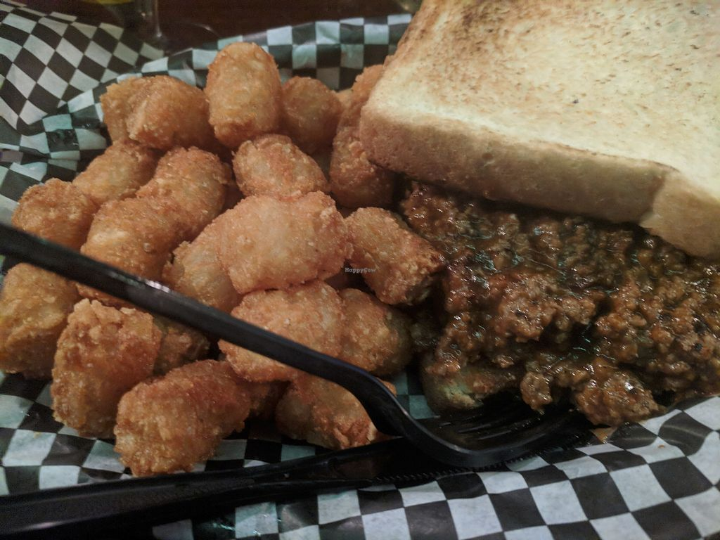"""Photo of Marshall Street Bar and Grill  by <a href=""""/members/profile/lizardlucas"""">lizardlucas</a> <br/>The meat version of the sloppy joe <br/> March 28, 2018  - <a href='/contact/abuse/image/98337/377399'>Report</a>"""