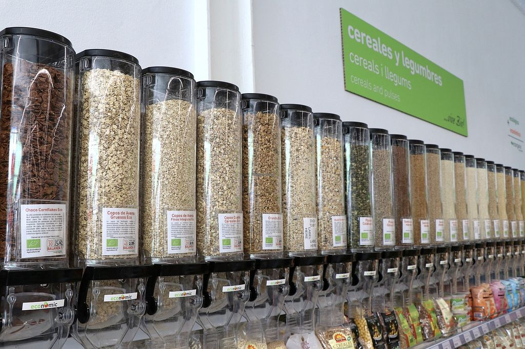 """Photo of Ecorganic  by <a href=""""/members/profile/Organicveganvalencia"""">Organicveganvalencia</a> <br/>So many bulk products! Ecorganic offers cereals, beans, breakfast cereals, nuts, seeds... in bulk <br/> August 14, 2017  - <a href='/contact/abuse/image/98376/292538'>Report</a>"""