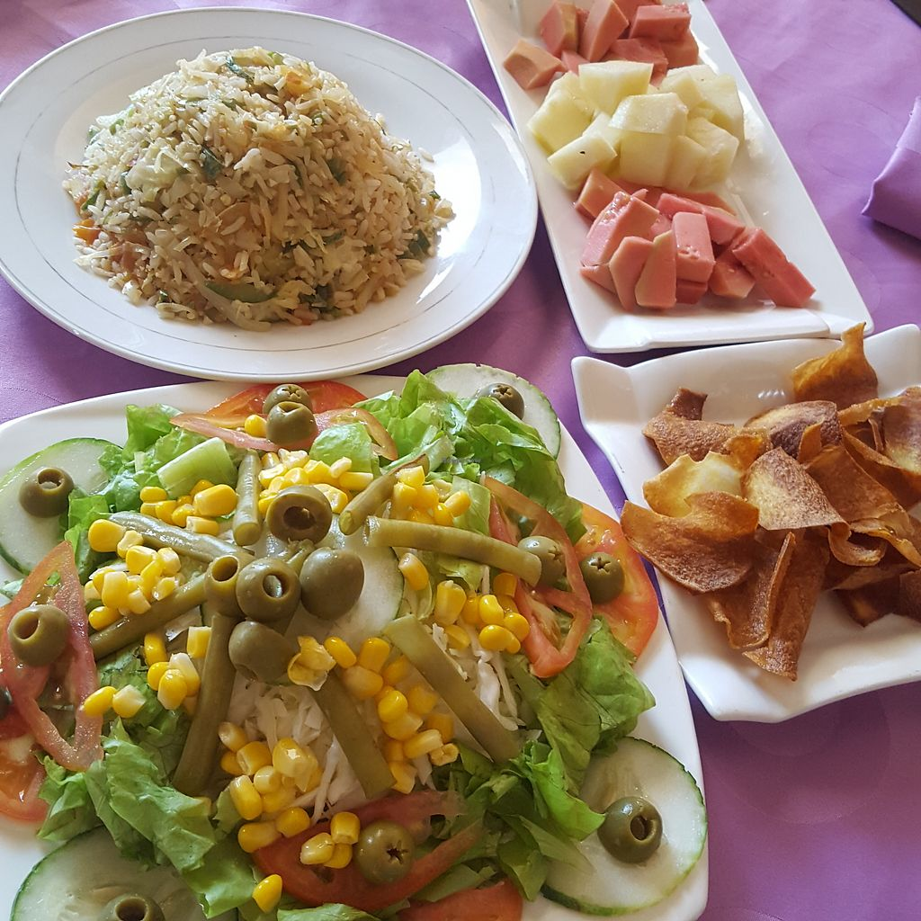 """Photo of Big Bang  by <a href=""""/members/profile/vegetarian_hk"""">vegetarian_hk</a> <br/>Lunch Vegetarian Set  3.5 CUC (2018/Feb) <br/> March 11, 2018  - <a href='/contact/abuse/image/98409/369340'>Report</a>"""