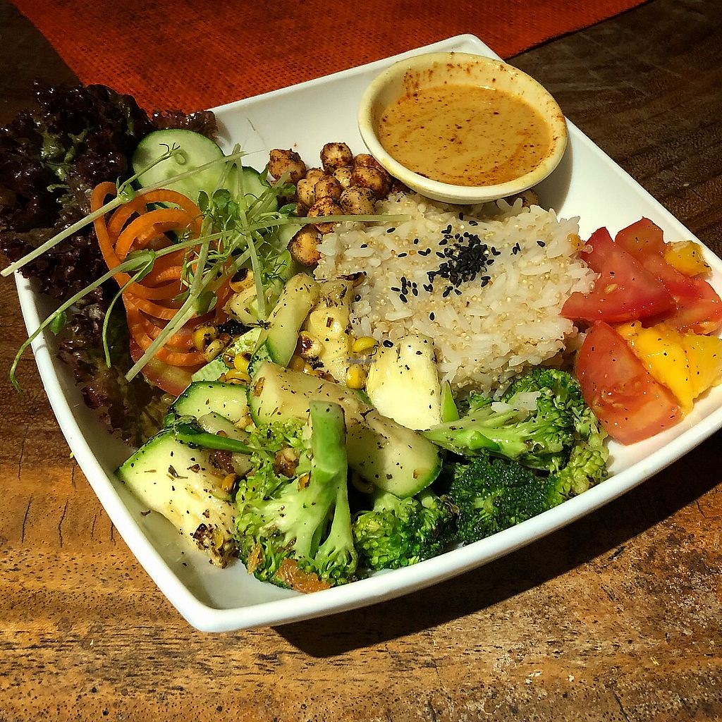 """Photo of REMOVED: Hari OM Food and Wellness  by <a href=""""/members/profile/KeithTharp"""">KeithTharp</a> <br/>Buddha Bowl <br/> December 18, 2017  - <a href='/contact/abuse/image/98417/337071'>Report</a>"""