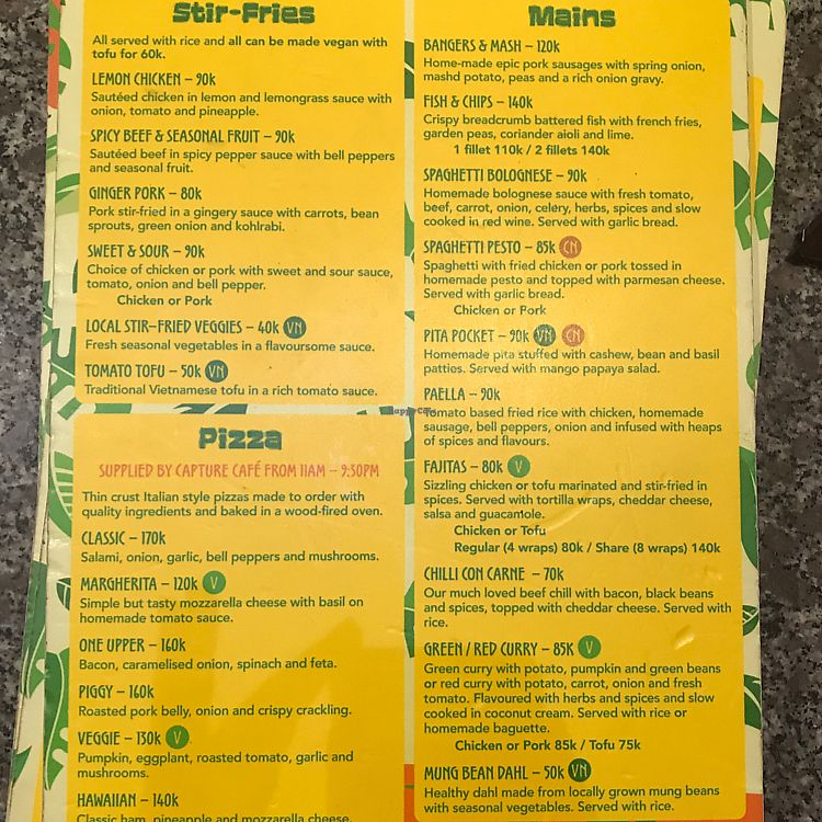 """Photo of Easy Tiger Hostel - Jungle Bar  by <a href=""""/members/profile/JessicaEatsFood"""">JessicaEatsFood</a> <br/>menu pg2 <br/> August 12, 2017  - <a href='/contact/abuse/image/98462/292113'>Report</a>"""