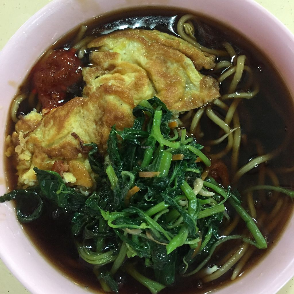 """Photo of CLOSED: Eastern Pure Vegetarian Food  by <a href=""""/members/profile/verywanderful"""">verywanderful</a> <br/>Lor Mee. Noodle with thick sauce and vinegar <br/> August 20, 2017  - <a href='/contact/abuse/image/98465/294762'>Report</a>"""