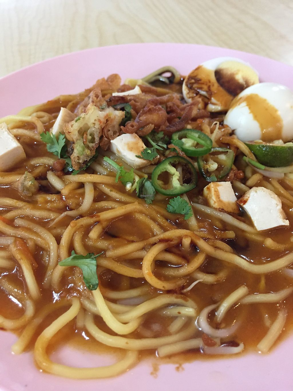 """Photo of CLOSED: Eastern Pure Vegetarian Food  by <a href=""""/members/profile/verywanderful"""">verywanderful</a> <br/>Mee Rubus. Malay Lor Mee. Noodle with thick sauce, Malay style <br/> August 20, 2017  - <a href='/contact/abuse/image/98465/294767'>Report</a>"""