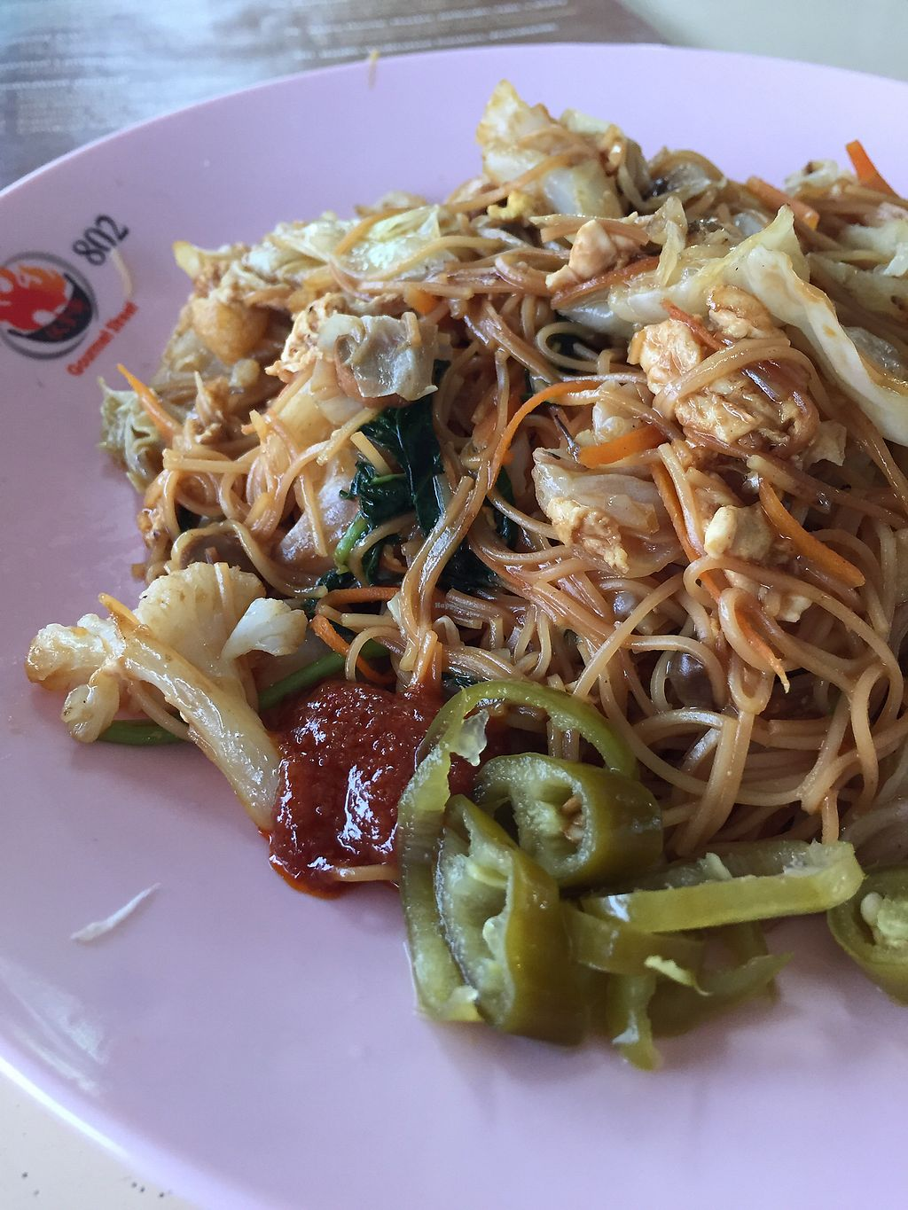 """Photo of CLOSED: Eastern Pure Vegetarian Food  by <a href=""""/members/profile/verywanderful"""">verywanderful</a> <br/>Fried Mee Sua <br/> August 20, 2017  - <a href='/contact/abuse/image/98465/294801'>Report</a>"""
