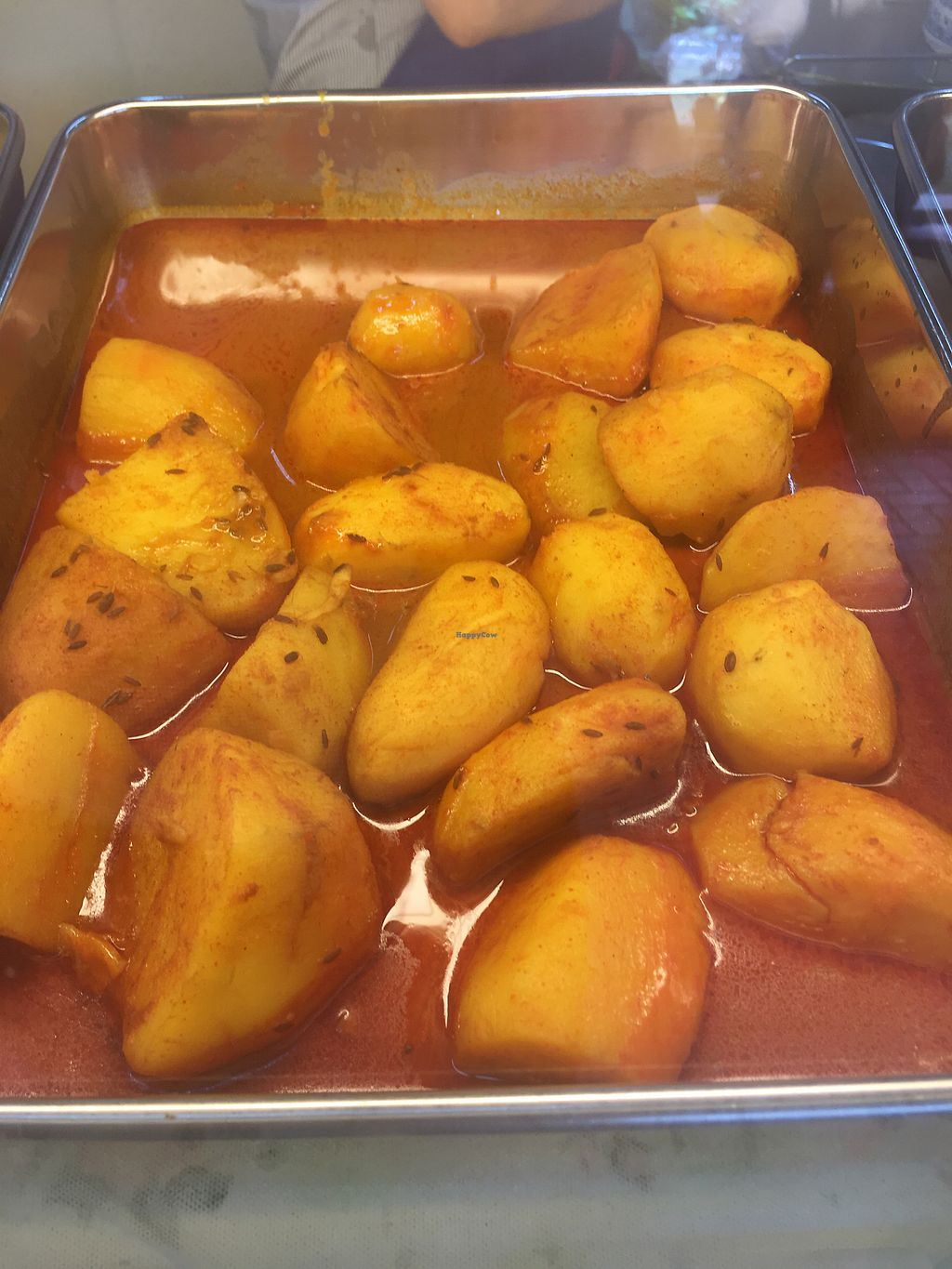 """Photo of CLOSED: Eastern Pure Vegetarian Food  by <a href=""""/members/profile/BernardKoh"""">BernardKoh</a> <br/>Curry Potatoes <br/> February 21, 2018  - <a href='/contact/abuse/image/98465/361948'>Report</a>"""