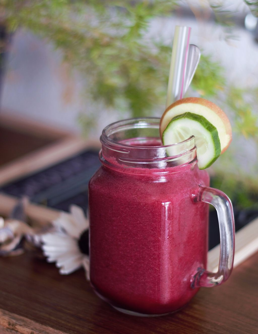 """Photo of Eatwithfingers Cafe  by <a href=""""/members/profile/EatwithfingersCaf%C3%A9"""">EatwithfingersCafé</a> <br/>Beetroot Smoothie <br/> August 27, 2017  - <a href='/contact/abuse/image/98498/297882'>Report</a>"""
