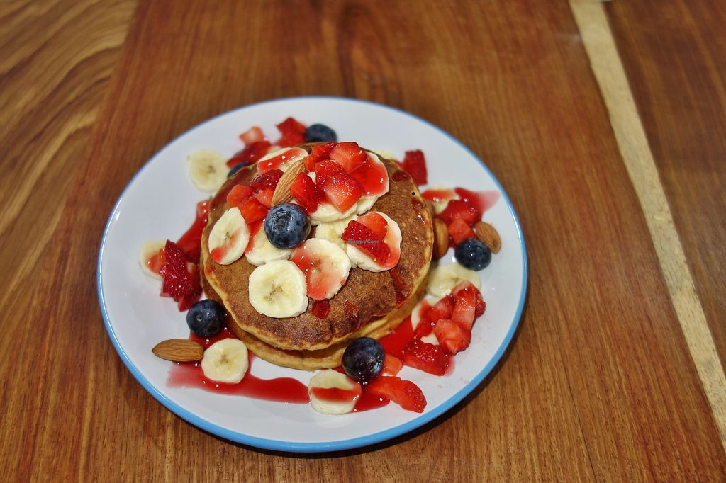 """Photo of Eatwithfingers Cafe  by <a href=""""/members/profile/Goosi"""">Goosi</a> <br/>Berry pancakes <br/> December 15, 2017  - <a href='/contact/abuse/image/98498/335810'>Report</a>"""