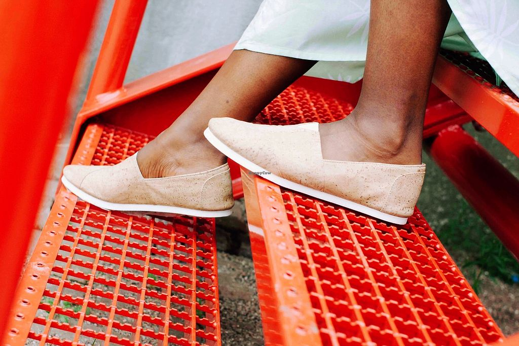 """Photo of iiwiiCork  by <a href=""""/members/profile/FeliceCleoZevenbergen"""">FeliceCleoZevenbergen</a> <br/>espadrilles made from cork! lightweight, waterproof & breathable  <br/> August 30, 2017  - <a href='/contact/abuse/image/98534/298982'>Report</a>"""