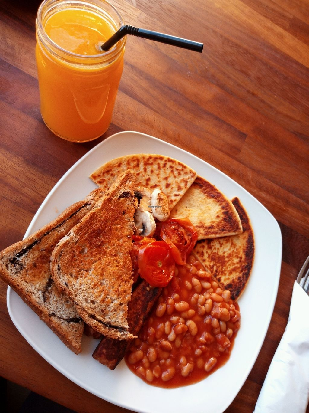 """Photo of Grassroots Cafe  by <a href=""""/members/profile/millivanilli"""">millivanilli</a> <br/>Vegan Breakfast <br/> October 29, 2017  - <a href='/contact/abuse/image/98559/319839'>Report</a>"""