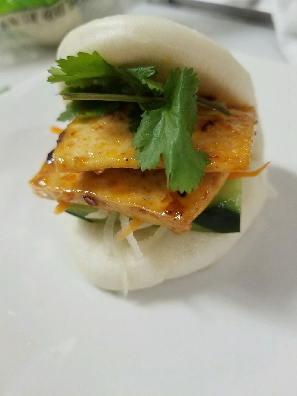 """Photo of Pho Fresh  by <a href=""""/members/profile/daofialu"""">daofialu</a> <br/>spicy tofu taco <br/> August 26, 2017  - <a href='/contact/abuse/image/98567/297587'>Report</a>"""