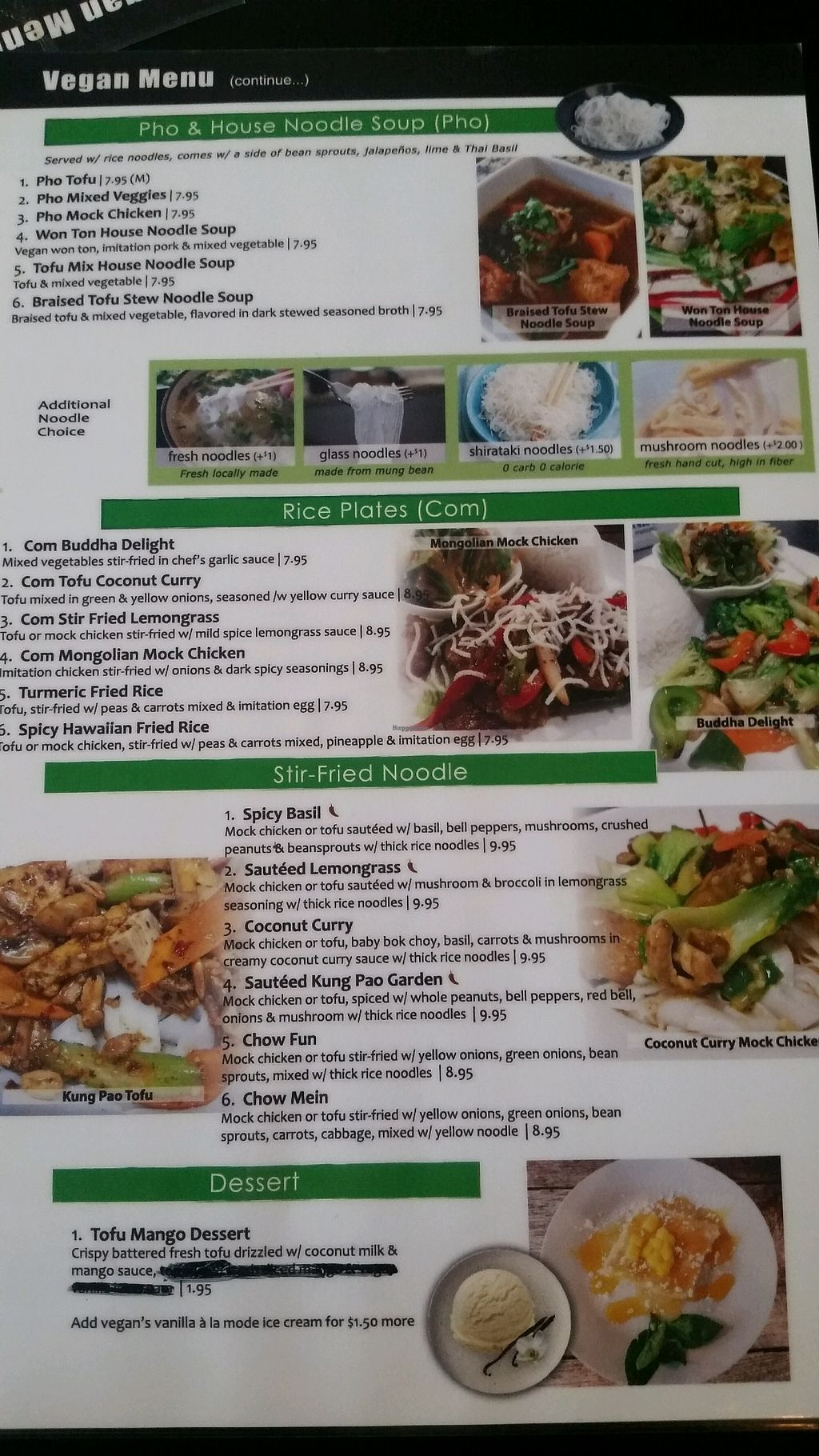 """Photo of Pho Fresh  by <a href=""""/members/profile/lembo916"""">lembo916</a> <br/>Vegan/vegetarian menu <br/> October 31, 2017  - <a href='/contact/abuse/image/98567/320325'>Report</a>"""