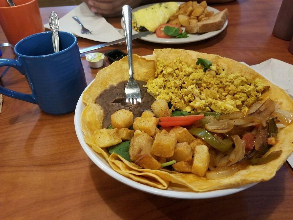 """Photo of Green Vegetarian Cuisine - Downtown  by <a href=""""/members/profile/ChristinaSalazar"""">ChristinaSalazar</a> <br/>vegan breakfast bowl <br/> October 16, 2017  - <a href='/contact/abuse/image/9860/315753'>Report</a>"""