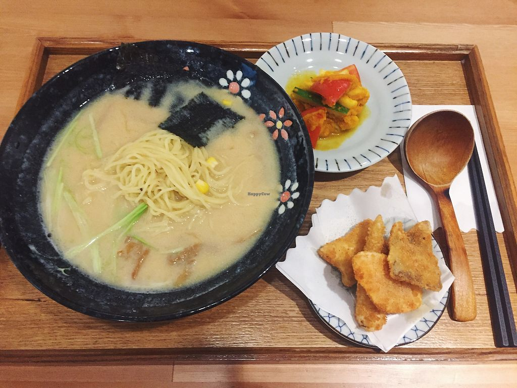 "Photo of Yuan Cui Shu Shi Zuo - Original Vegan  by <a href=""/members/profile/HaileyPoLa"">HaileyPoLa</a> <br/>miso ramen combo  <br/> August 17, 2017  - <a href='/contact/abuse/image/98626/293646'>Report</a>"