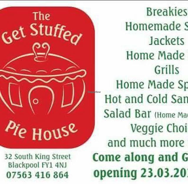"""Photo of The Get Stuffed Pie House  by <a href=""""/members/profile/Superteebs"""">Superteebs</a> <br/>menu <br/> August 16, 2017  - <a href='/contact/abuse/image/98667/293140'>Report</a>"""