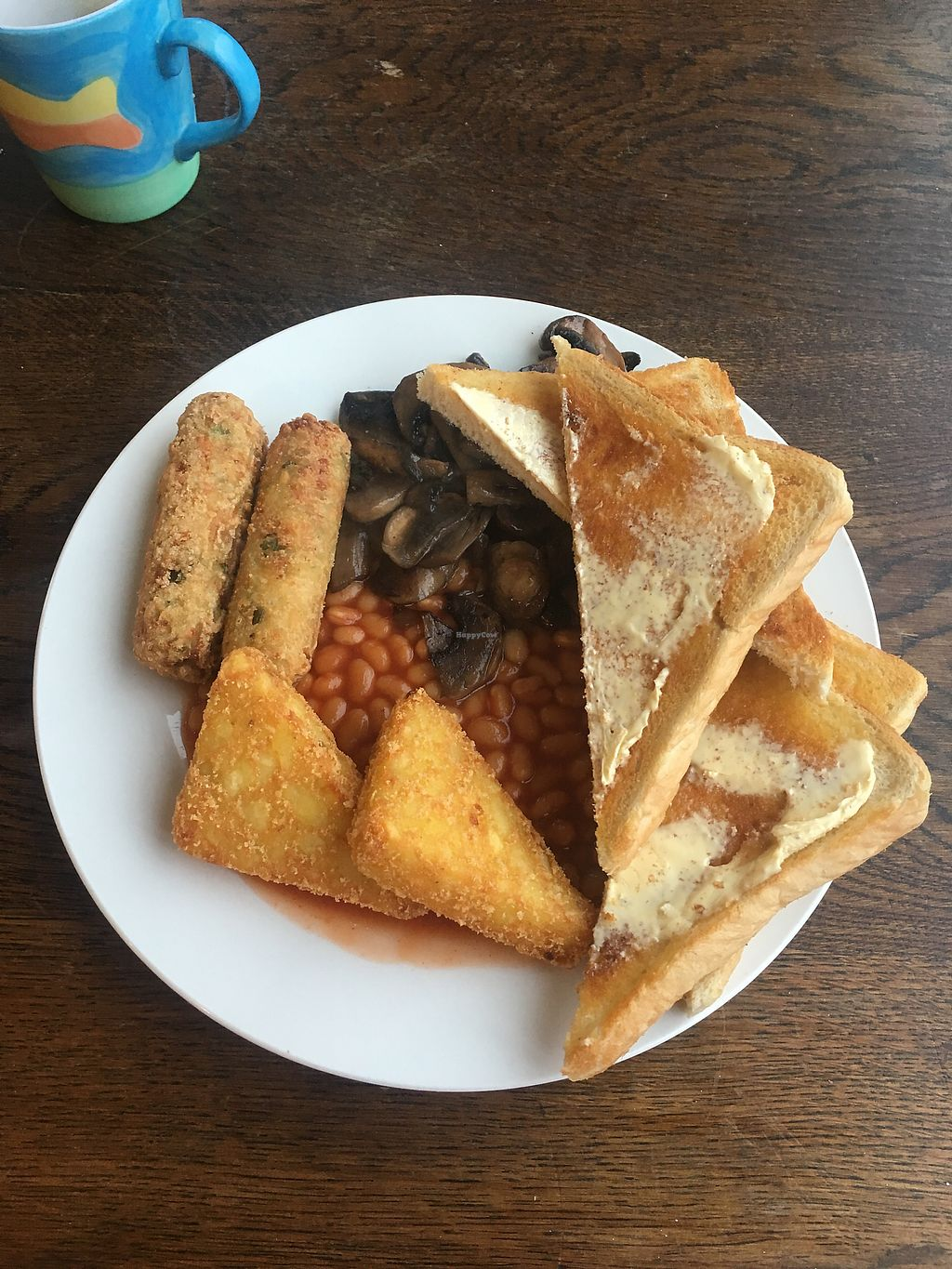 """Photo of The Get Stuffed Pie House  by <a href=""""/members/profile/Superteebs"""">Superteebs</a> <br/>Vegan brekky <br/> February 17, 2018  - <a href='/contact/abuse/image/98667/360399'>Report</a>"""