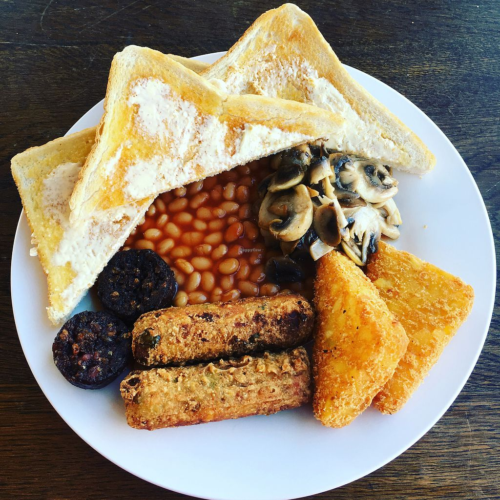 """Photo of The Get Stuffed Pie House  by <a href=""""/members/profile/Superteebs"""">Superteebs</a> <br/>Vegan brekky <br/> February 17, 2018  - <a href='/contact/abuse/image/98667/360400'>Report</a>"""