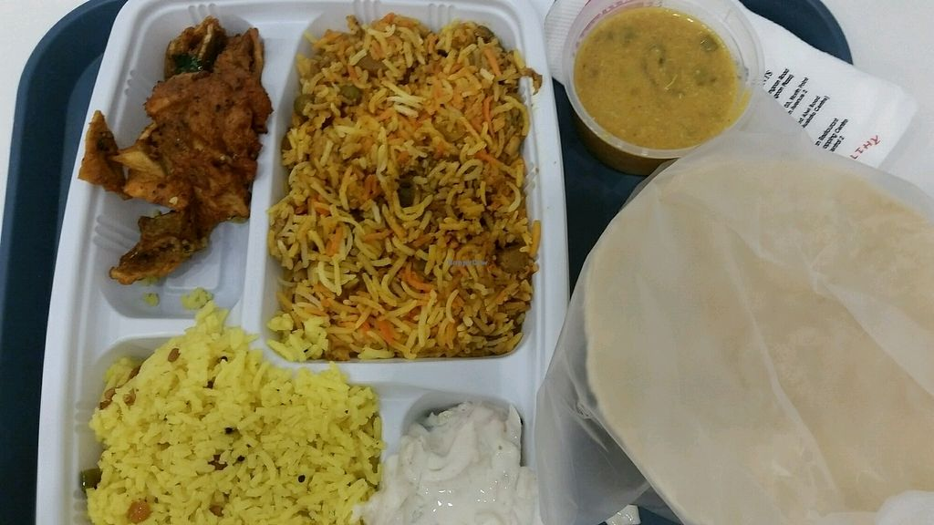"""Photo of Komala's Restaurant - Tanjong Pagar  by <a href=""""/members/profile/JimmySeah"""">JimmySeah</a> <br/>Briyani rice special <br/> August 16, 2017  - <a href='/contact/abuse/image/98682/293090'>Report</a>"""