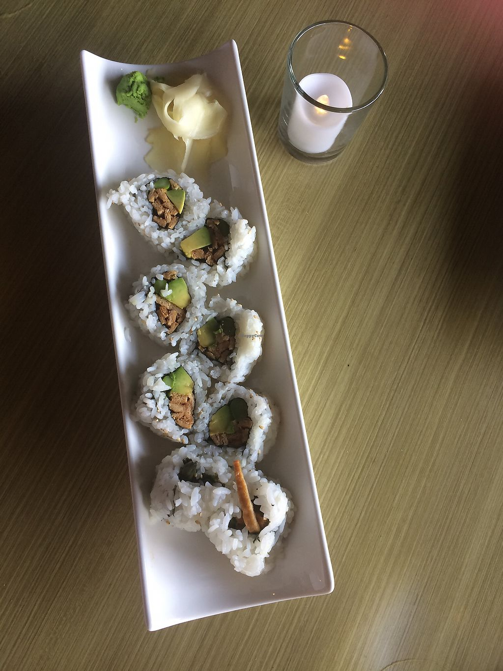 """Photo of Papaya Asian Kitchen  by <a href=""""/members/profile/fruitiJulie"""">fruitiJulie</a> <br/>Buddha Roll  <br/> August 16, 2017  - <a href='/contact/abuse/image/98708/293097'>Report</a>"""