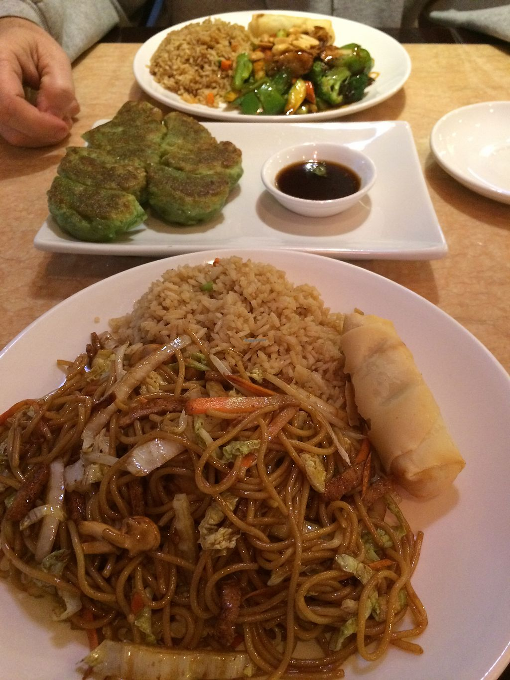 """Photo of Ma Ma Wok  by <a href=""""/members/profile/TomMare"""">TomMare</a> <br/>Lo Mein and Kung Pao  <br/> November 17, 2017  - <a href='/contact/abuse/image/98709/326549'>Report</a>"""