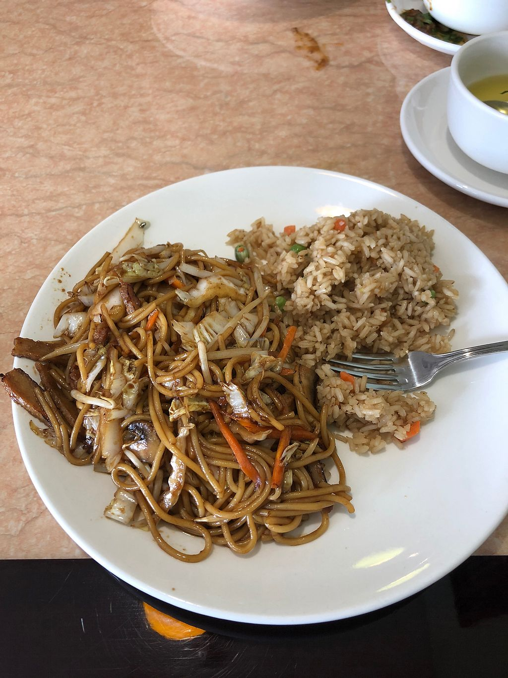 """Photo of Ma Ma Wok  by <a href=""""/members/profile/AshleyMullins"""">AshleyMullins</a> <br/>Chicken Lo Mein combo <br/> April 8, 2018  - <a href='/contact/abuse/image/98709/382532'>Report</a>"""
