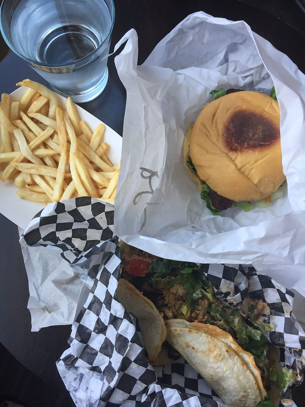 """Photo of Arlo's Food Truck - The Grackle  by <a href=""""/members/profile/EricaEff"""">EricaEff</a> <br/>Bacon cheeseburger is a must! Chickn tacos were just okay <br/> May 6, 2018  - <a href='/contact/abuse/image/98710/396249'>Report</a>"""