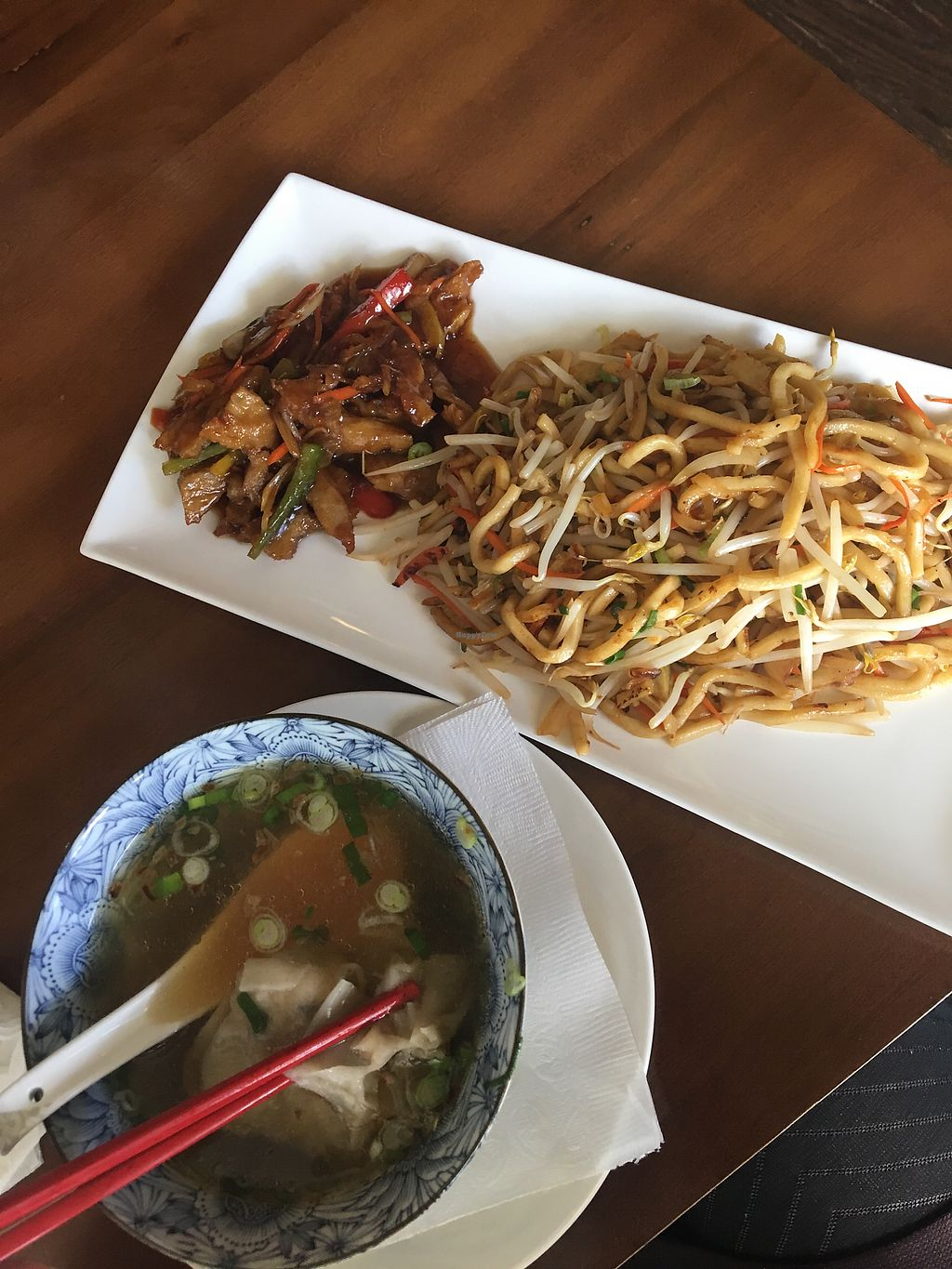 """Photo of Seasoned Fusion Tastes  by <a href=""""/members/profile/form"""">form</a> <br/>Vegan combo #2 <br/> April 22, 2018  - <a href='/contact/abuse/image/98715/389633'>Report</a>"""