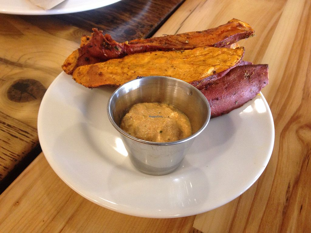 """Photo of Pulse Cafe  by <a href=""""/members/profile/vegangelic"""">vegangelic</a> <br/>Sweet potato wedges <br/> September 9, 2017  - <a href='/contact/abuse/image/98725/302518'>Report</a>"""
