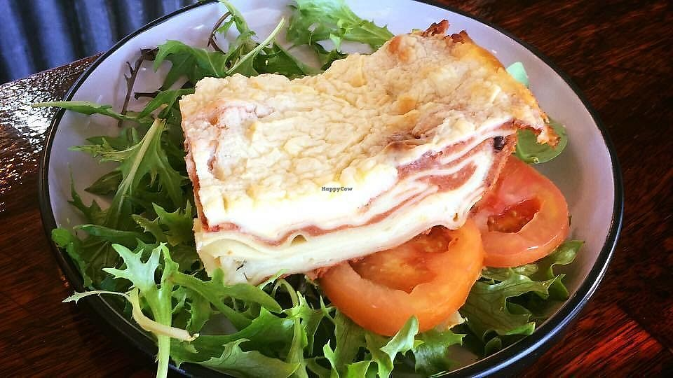 """Photo of Il Pozzo Cafe  by <a href=""""/members/profile/community5"""">community5</a> <br/>Vegan lasagna  <br/> August 19, 2017  - <a href='/contact/abuse/image/98736/294525'>Report</a>"""