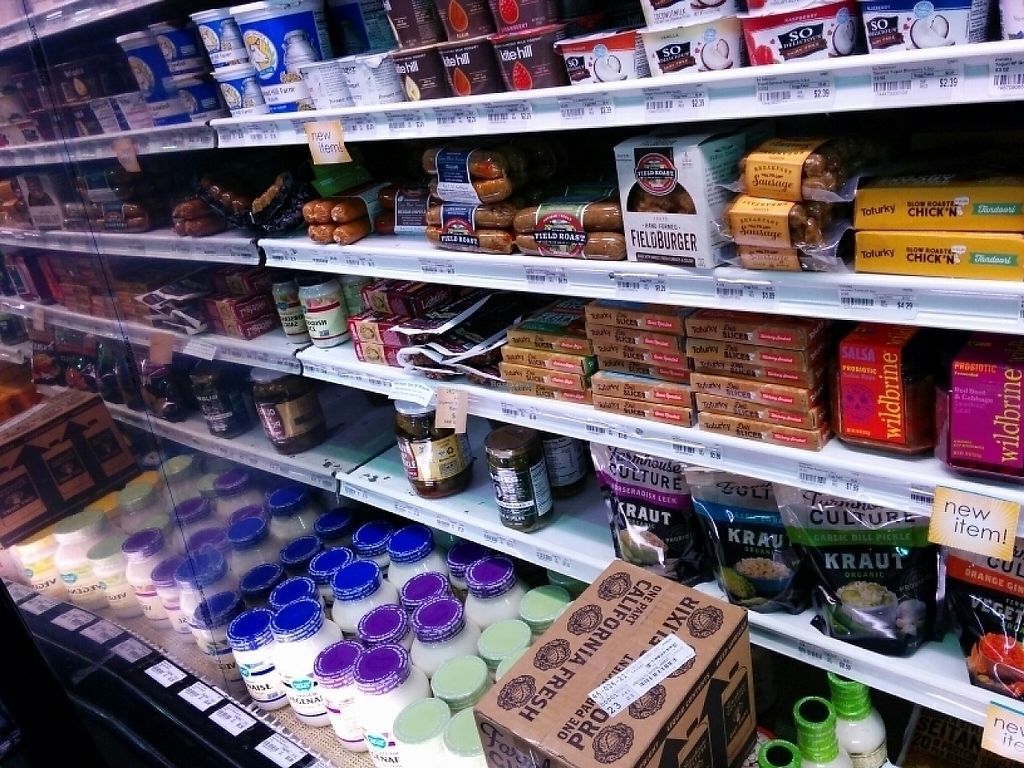 "Photo of Grassroots Natural Market  by <a href=""/members/profile/MizzB"">MizzB</a> <br/>Vegan meats, dairy, condiments, many national brands available <br/> March 27, 2017  - <a href='/contact/abuse/image/9873/241808'>Report</a>"