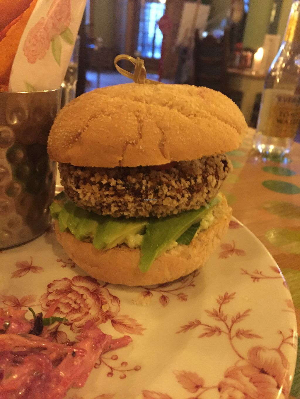 """Photo of The Cosy Club  by <a href=""""/members/profile/butternutsquashie"""">butternutsquashie</a> <br/>Thai burger  <br/> April 9, 2018  - <a href='/contact/abuse/image/98749/383048'>Report</a>"""