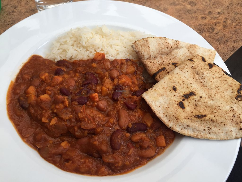 "Photo of Lochinver Larder  by <a href=""/members/profile/GoVeganScotland"">GoVeganScotland</a> <br/>sweet potato and bean chilli  <br/> August 19, 2017  - <a href='/contact/abuse/image/98751/294528'>Report</a>"