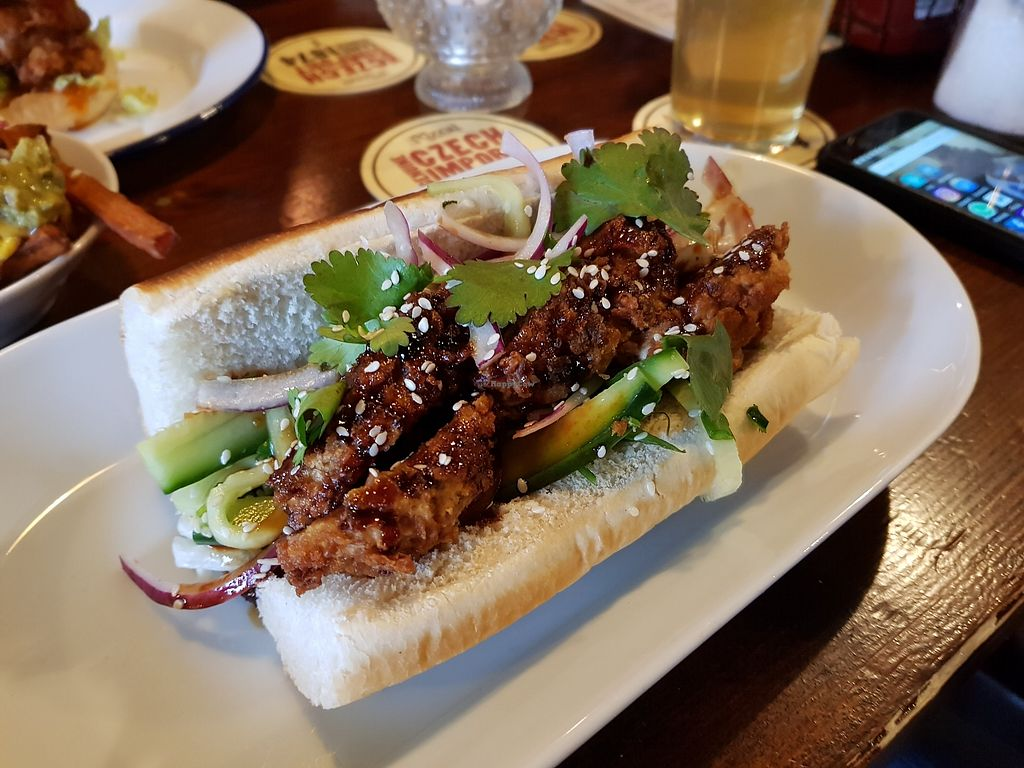 """Photo of The Firefly  by <a href=""""/members/profile/Chump"""">Chump</a> <br/>Korean sandwich (seitan) - amaaazing <br/> January 8, 2018  - <a href='/contact/abuse/image/98785/344359'>Report</a>"""