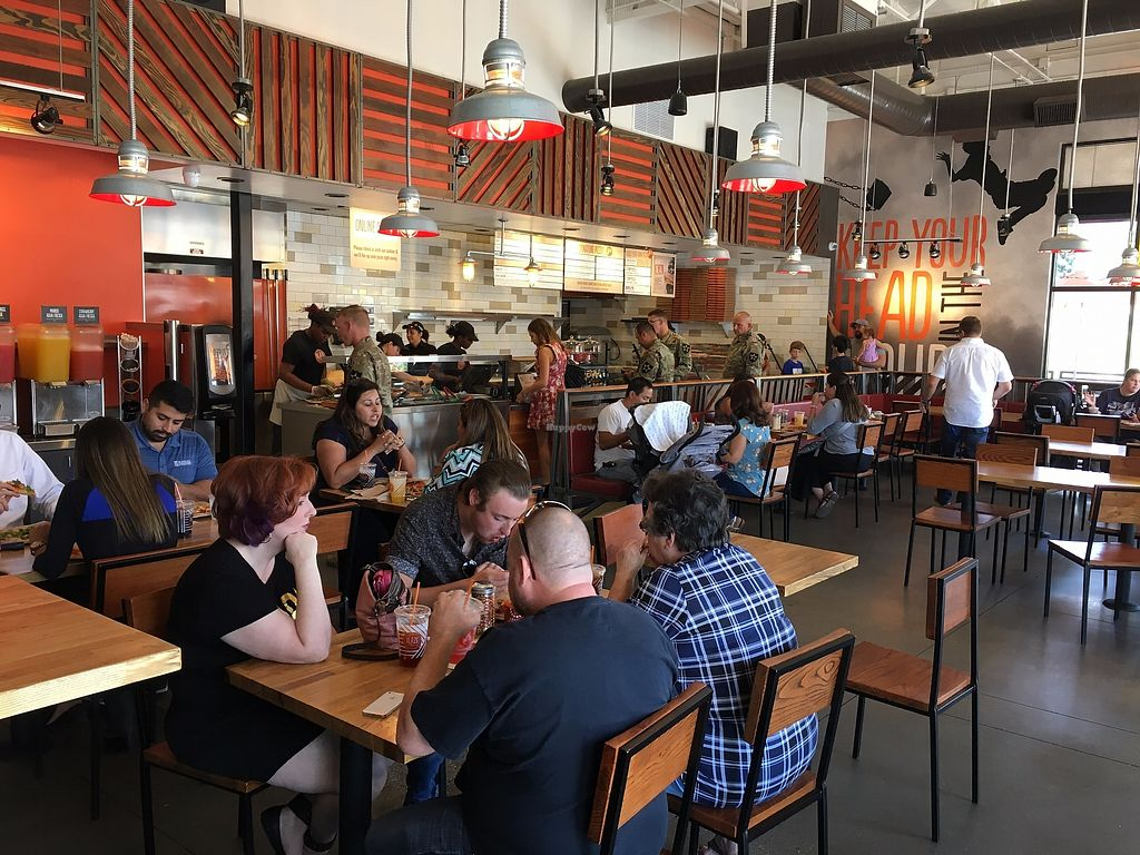 """Photo of Blaze Pizza  by <a href=""""/members/profile/Veganbloke"""">Veganbloke</a> <br/>Interior <br/> August 17, 2017  - <a href='/contact/abuse/image/98787/293410'>Report</a>"""
