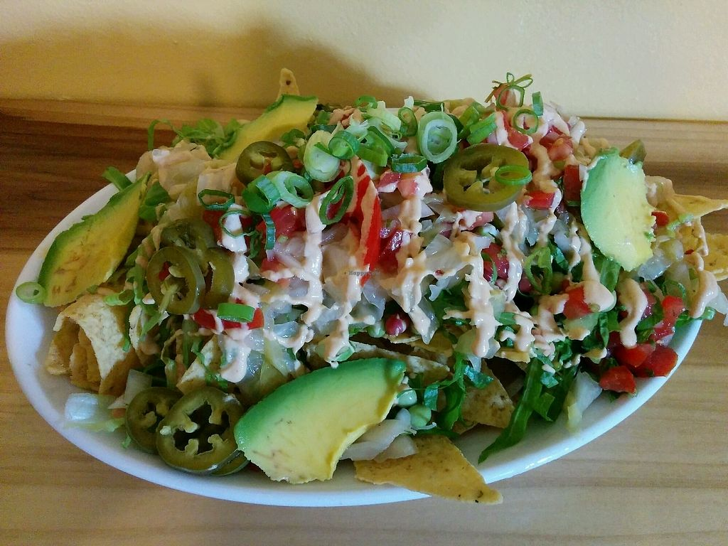 """Photo of New Moon Foods  by <a href=""""/members/profile/alexandra_vegan"""">alexandra_vegan</a> <br/>Nachos <br/> September 30, 2017  - <a href='/contact/abuse/image/98813/309952'>Report</a>"""