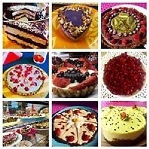 """Photo of ARawMatique  by <a href=""""/members/profile/carmenm"""">carmenm</a> <br/>Selection of raw vegan cakes <br/> August 18, 2017  - <a href='/contact/abuse/image/98815/293875'>Report</a>"""