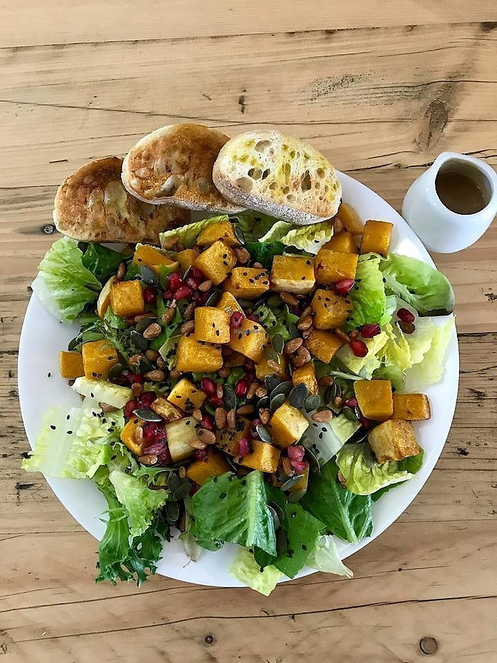 "Photo of Culture Coffee  by <a href=""/members/profile/community5"">community5</a> <br/>Pomegranate salad <br/> August 21, 2017  - <a href='/contact/abuse/image/98820/295365'>Report</a>"