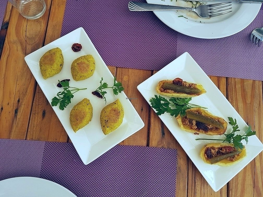 """Photo of Coara   by <a href=""""/members/profile/tantantan"""">tantantan</a> <br/>vegan kibbeh and Soujouk! <br/> September 15, 2017  - <a href='/contact/abuse/image/98825/304750'>Report</a>"""