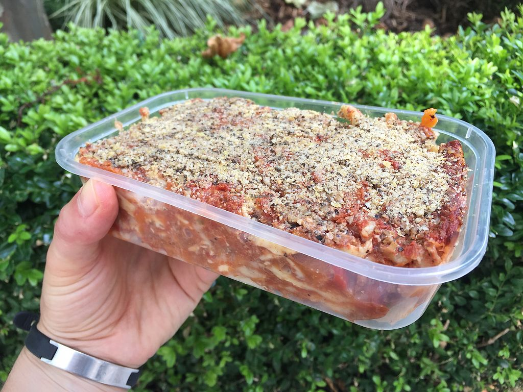 """Photo of Vegan Yes - Whitechapel  by <a href=""""/members/profile/Bea_lc"""">Bea_lc</a> <br/>gorgeous lasagna <br/> August 31, 2017  - <a href='/contact/abuse/image/98828/299423'>Report</a>"""