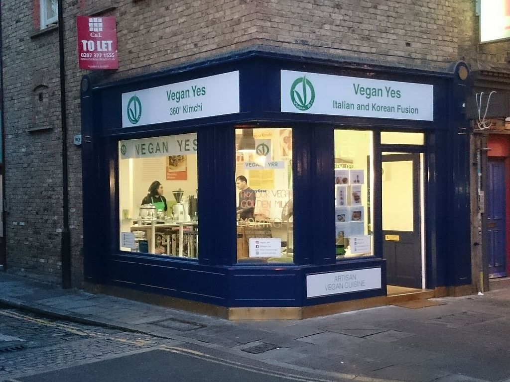"""Photo of Vegan Yes - Whitechapel  by <a href=""""/members/profile/mohammk"""">mohammk</a> <br/>Main shop front <br/> September 17, 2017  - <a href='/contact/abuse/image/98828/305439'>Report</a>"""
