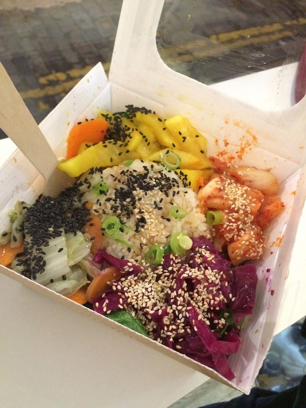 """Photo of Vegan Yes - Whitechapel  by <a href=""""/members/profile/tendaystogo"""">tendaystogo</a> <br/>Bibimbap <br/> September 28, 2017  - <a href='/contact/abuse/image/98828/309438'>Report</a>"""